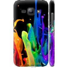 Чехол на Samsung Galaxy J1 J100H брызги краски