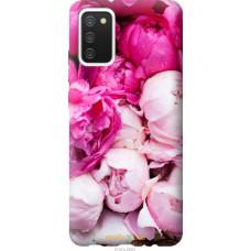 Чехол на Samsung Galaxy A02s A025F Розовые пионы
