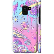Чехол на Samsung Galaxy A8 2018 A530F 'Розовый космос