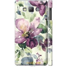 Чехол на Samsung Galaxy A7 A700H Акварель цветы
