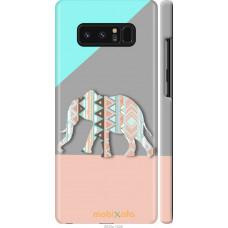 Чехол на Samsung Galaxy Note 8 Узорчатый слон