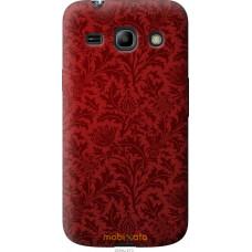 Чехол на Samsung Galaxy Star Advance G350E Чехол цвета бордо