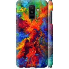 Чехол на Samsung Galaxy A6 Plus 2018 Акварель на холсте