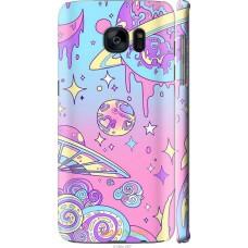 Чехол на Samsung Galaxy S7 Edge G935F 'Розовый космос