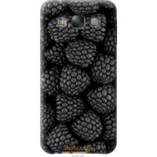 Чехол на Samsung Galaxy E7 E700H Черная ежевика
