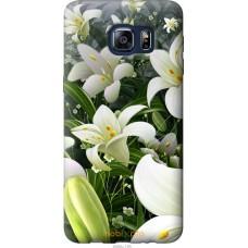 Чехол на Samsung Galaxy S6 Edge Plus G928 Лилии белые