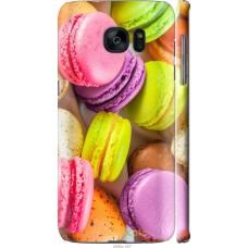 Чехол на Samsung Galaxy S7 Edge G935F Вкусные макаруны