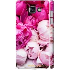 Чехол на Samsung Galaxy A7 (2016) A710F Розовые цветы