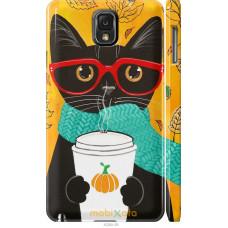 Чехол на Samsung Galaxy Note 3 N9000 Осенний кот