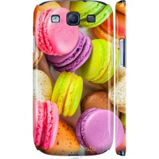 Чехол на Samsung Galaxy S3 i9300 Вкусные макаруны