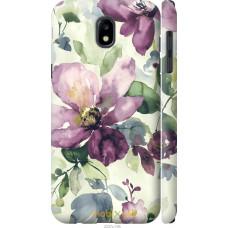 Чехол на Samsung Galaxy J5 J530 (2017) Акварель цветы