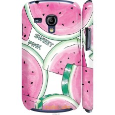 Чехол на Samsung Galaxy S3 mini Розовый арбузик