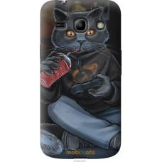Чехол на Samsung Galaxy Star Advance G350E gamer cat