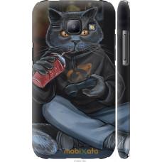 Чехол на Samsung Galaxy J1 J100H gamer cat