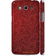 Чехол на Samsung Galaxy Grand 2 G7102 Чехол цвета бордо