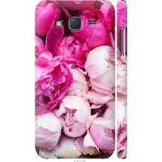 Чехол на Samsung Galaxy J5 (2015) J500H Розовые цветы