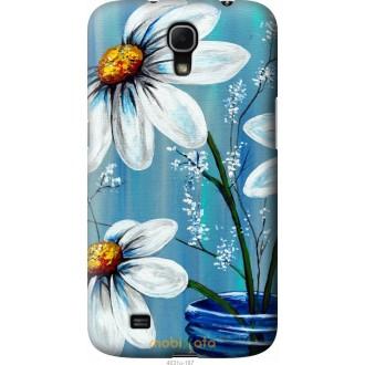 Чехол на Samsung Galaxy Mega 6.3 i9200 Красивые арт-ромашки