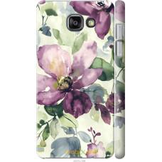 Чехол на Samsung Galaxy A5 (2016) A510F Акварель цветы