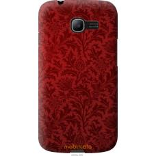 Чехол на Samsung Galaxy Star Plus S7262 Чехол цвета бордо