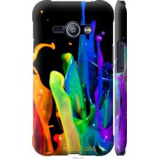 Чехол на Samsung Galaxy J1 Ace J110H брызги краски