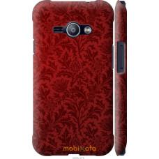 Чехол на Samsung Galaxy J1 Ace J110H Чехол цвета бордо