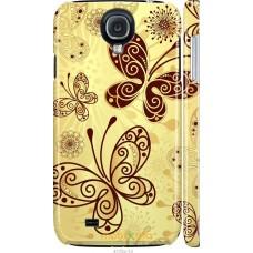 Чехол на Samsung Galaxy S4 i9500 Рисованные бабочки