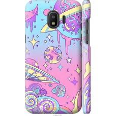 Чехол на Samsung Galaxy J2 2018 'Розовый космос