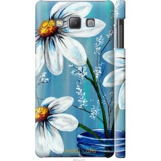 Чехол на Samsung Galaxy A7 A700H Красивые арт-ромашки