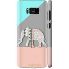 Чехол на Samsung Galaxy S8 Plus Узорчатый слон
