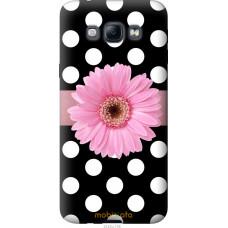Чехол на Samsung Galaxy A8 A8000 Цветочек горошек v2