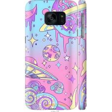 Чехол на Samsung Galaxy S7 G930F 'Розовый космос