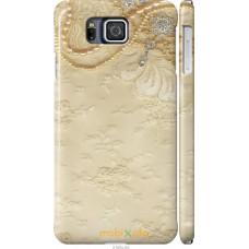 Чехол на Samsung Galaxy Alpha G850F 'Мягкий орнамент