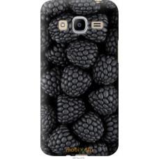 Чехол на Samsung Galaxy J2 (2016) J210 Черная ежевика