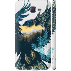 Чехол на Samsung Galaxy J7 J700H Арт-орел на фоне природы