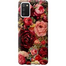 Чехол на Samsung Galaxy A02s A025F Цветущие розы