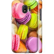 Чехол на Samsung Galaxy J2 2018 Вкусные макаруны
