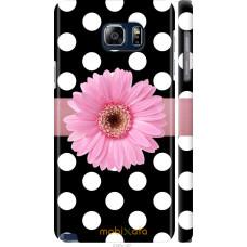 Чехол на Samsung Galaxy Note 5 N920C Цветочек горошек v2