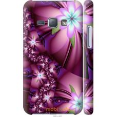 Чехол на Samsung Galaxy J1 (2016) Duos J120H Цветочная мозаи