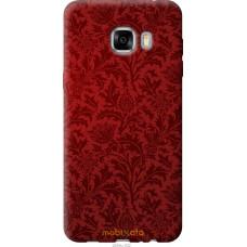 Чехол на Samsung Galaxy C7 C7000 Чехол цвета бордо