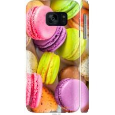 Чехол на Samsung Galaxy S7 G930F Вкусные макаруны