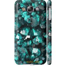 Чехол на Samsung Galaxy E5 E500H Кристаллы 2