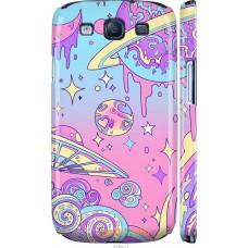 Чехол на Samsung Galaxy S3 Duos I9300i 'Розовый космос