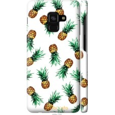 Чехол на Samsung Galaxy A8 2018 A530F Ананас
