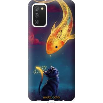 Чехол на Samsung Galaxy A02s A025F Кошкин сон