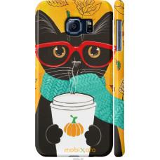 Чехол на Samsung Galaxy S6 G920 Осенний кот