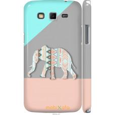 Чехол на Samsung Galaxy Grand 2 G7102 Узорчатый слон