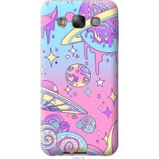 Чехол на Samsung Galaxy E7 E700H 'Розовый космос