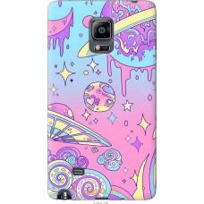 Чехол на Samsung Note Edge SM-N915 'Розовый космос