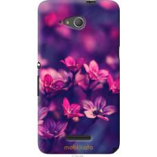 Чехол на Sony Xperia E4g Весенние цветочки