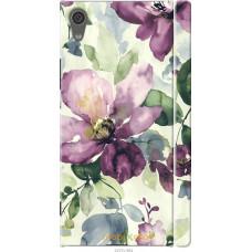 Чехол на Sony Xperia XA1 Акварель цветы